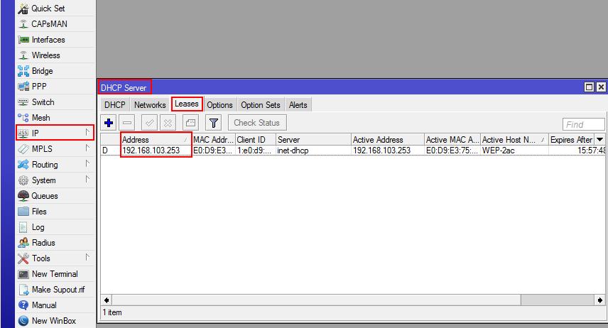 eltex адрес точки доступа в mikrotik