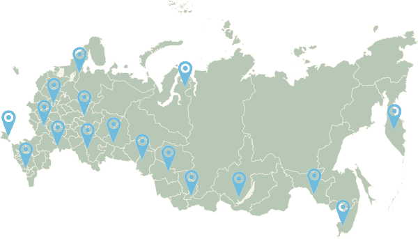 Скидки по всей России